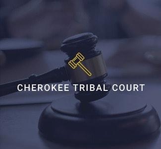 cherokee tribal court